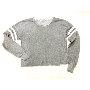 Wildfox Raw hem sweatshirt